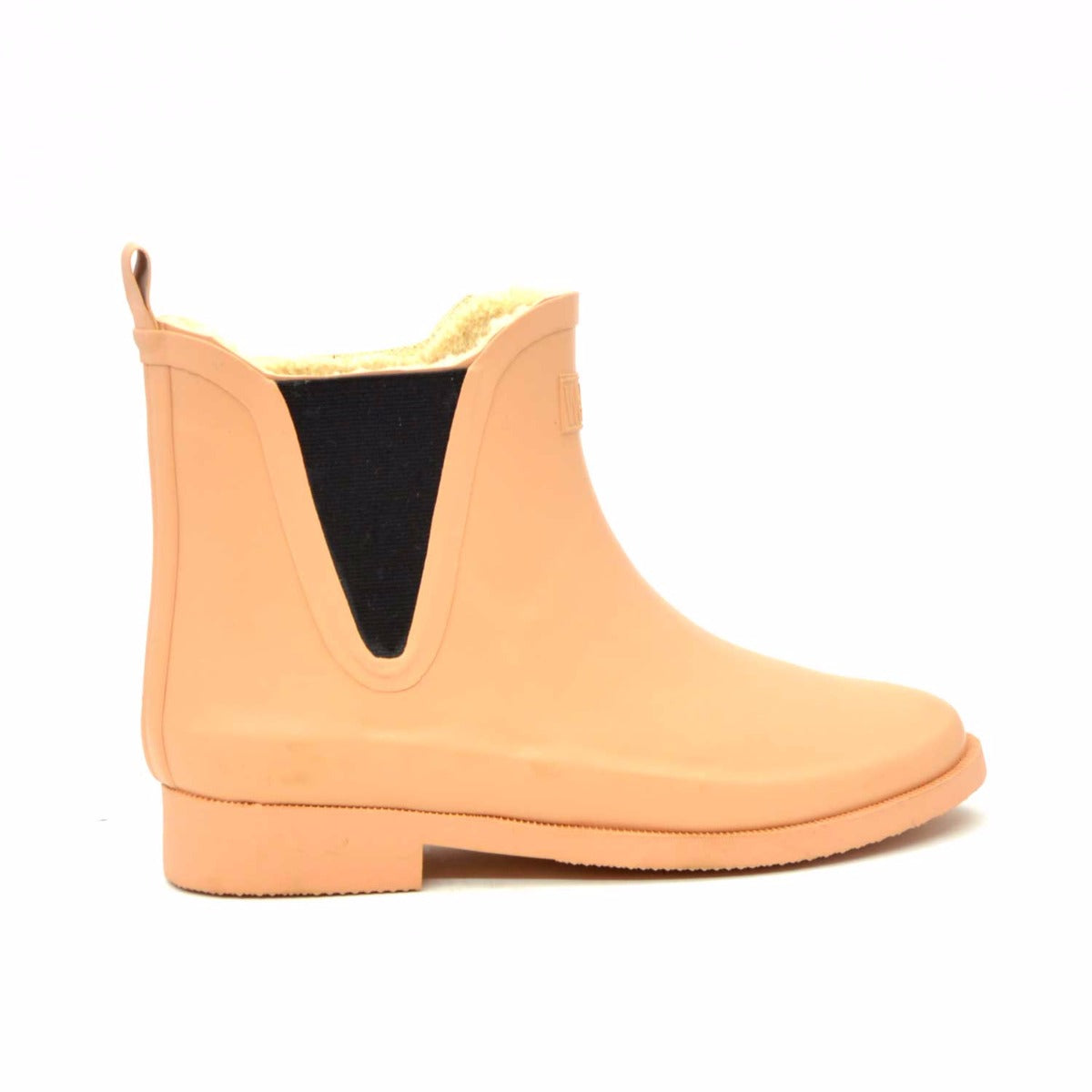Fleeced V Camel Wellies