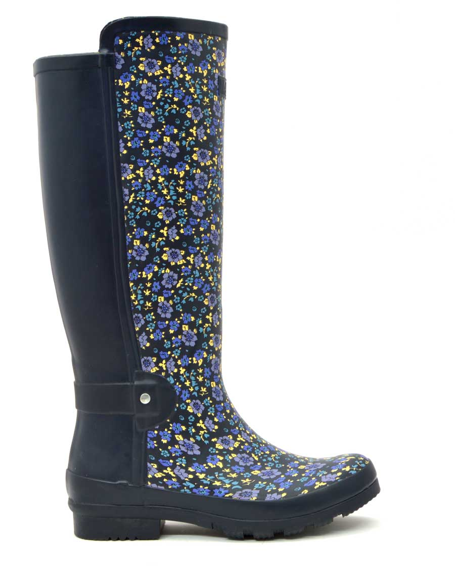 Spring Floral Wellies