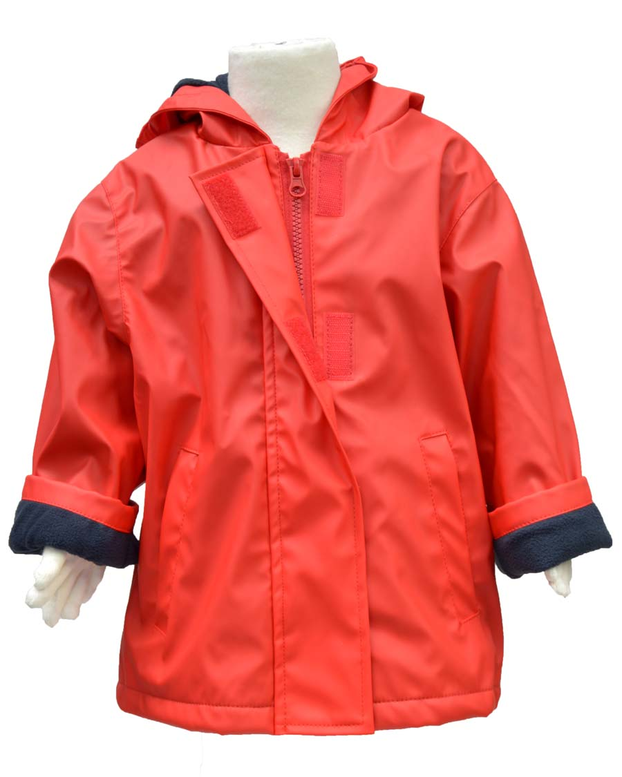 WelliesAU Red Rainy Days Raincoat