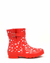 Red Polka Wellies