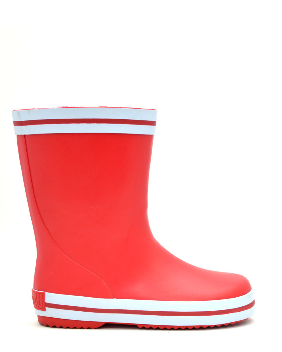 Splash Red Gumboots