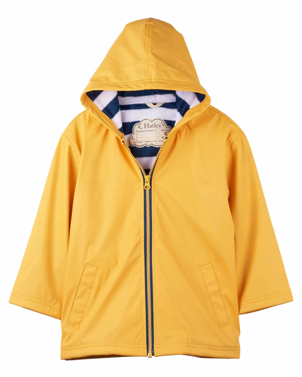 Yellow & Navy Splash Jacket