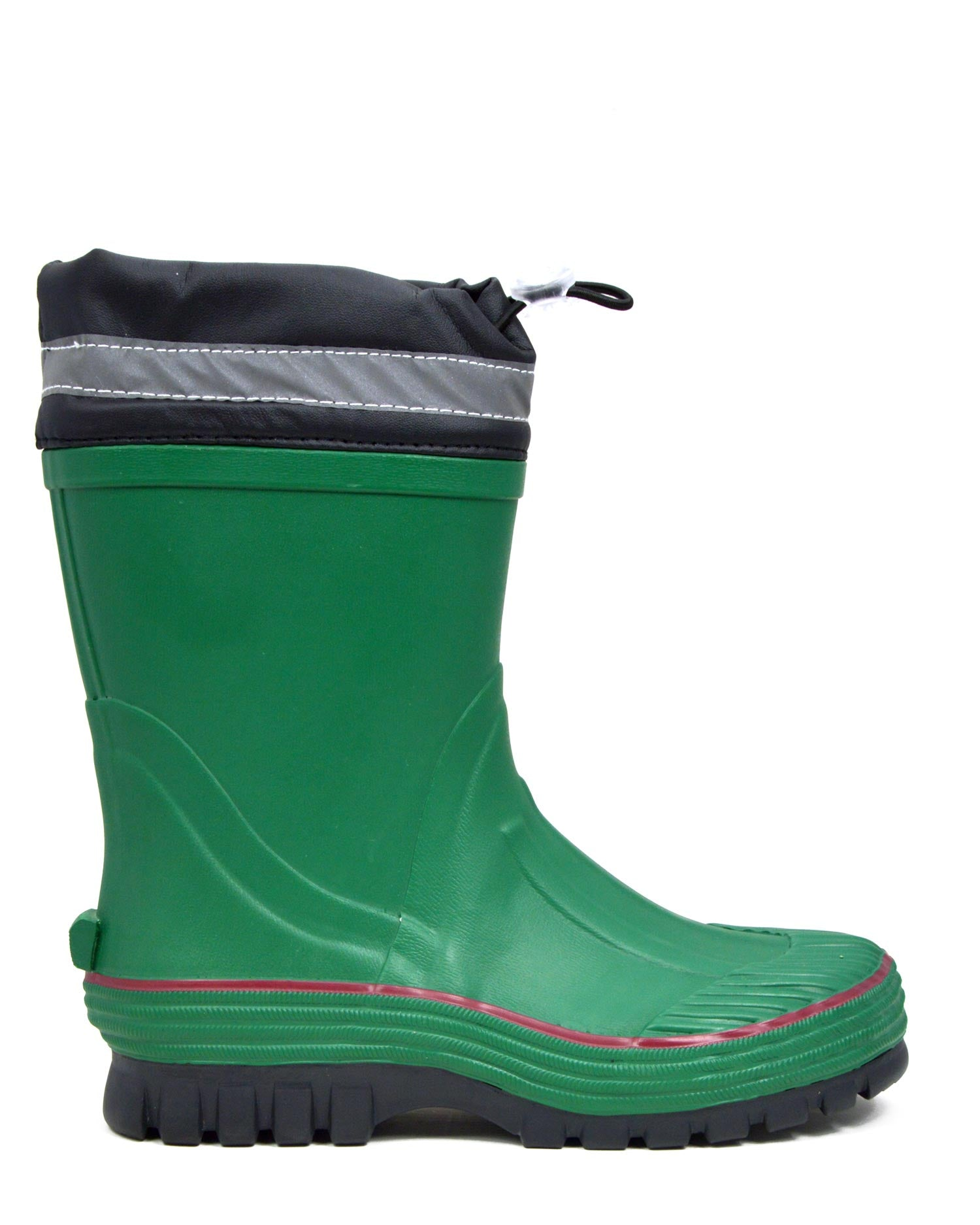 Youth Toggle Olive Gumboots