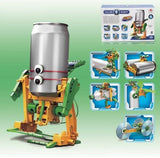 6 in 1 Super Solar Recycler Robot