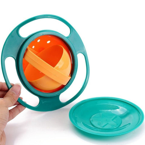 360º Rotate Spill-Proof Bowl