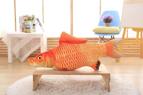Big Fish Toy for Cat - 10 Species