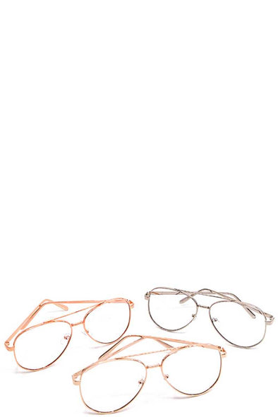 Designer Stylish Anti Uv Glasses - Babe Shoppe
