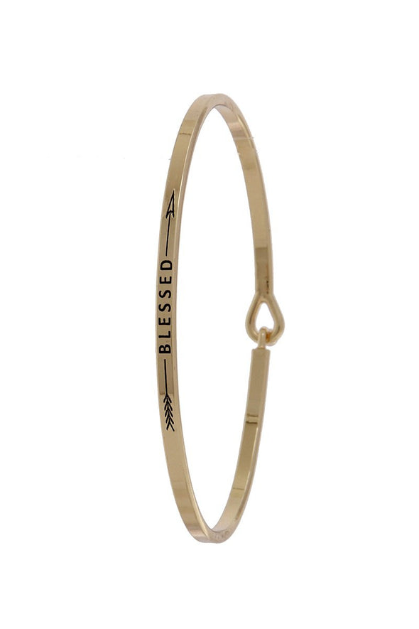 Blessed Arrow Inspiration Bangle - Sassy Gal Fashion