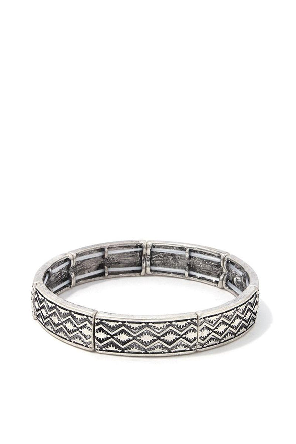 Metal Stretch Bracelet - Babe Shoppe