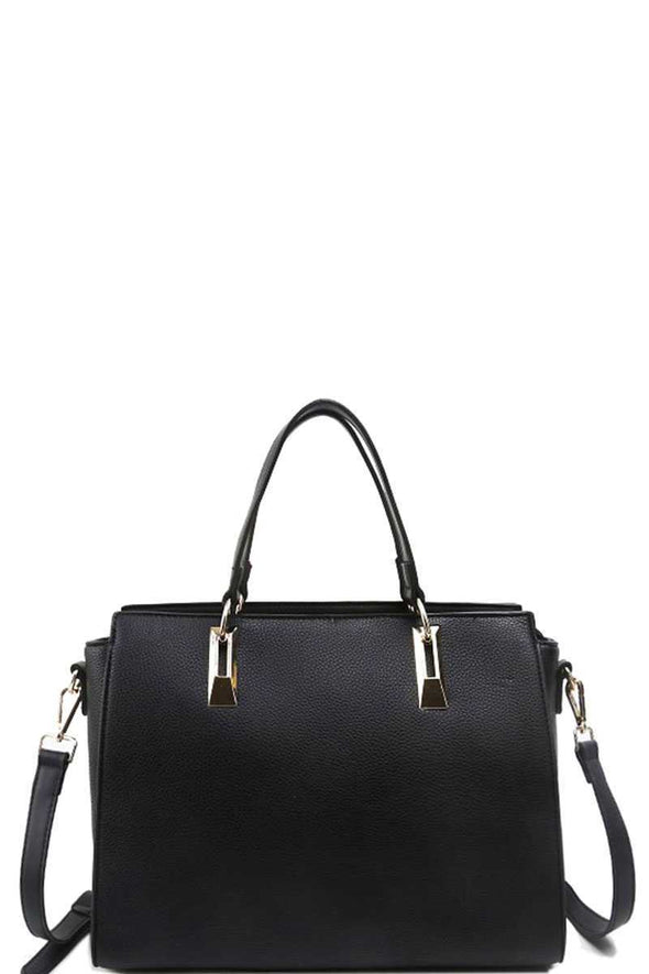 Modern Chic Stylish Satchel With Long Strap - Babe Shoppe