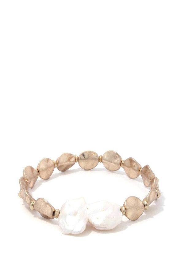 Beaded Stretch Bracelet - Babe Shoppe