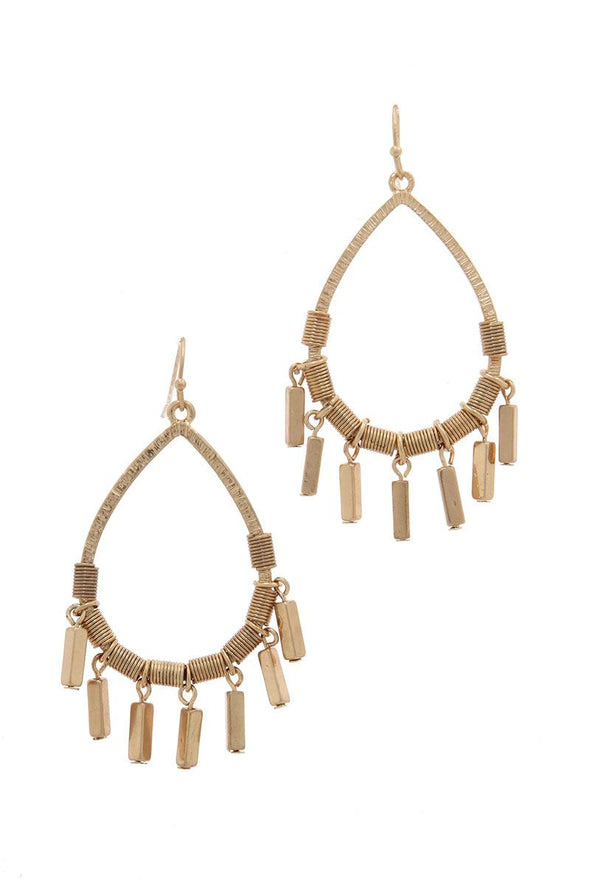Teardrop Dangle Earring - Babe Shoppe