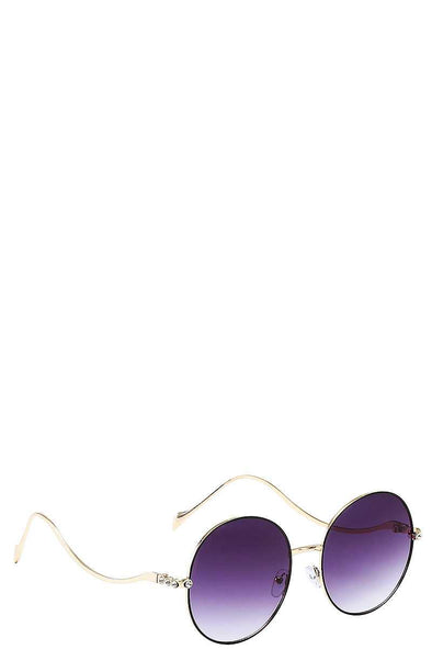 Modern Stylish Wave Frame Sunglasses - Babe Shoppe