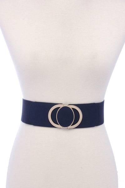 Pu Leather Elastic Belt - Babe Shoppe