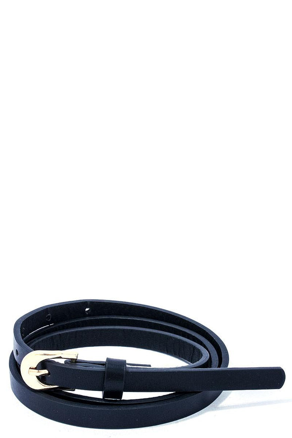 Modern Stylish Skinny Belt - Babe Shoppe