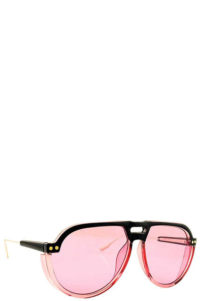 Fashion Aviator Color Tint Unisex Sunglasses - Babe Shoppe