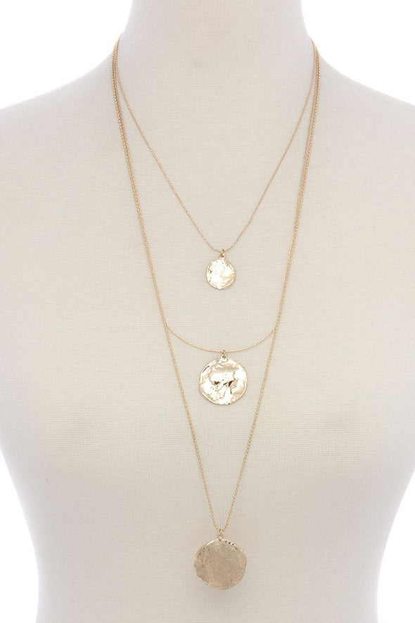 Coin Layer Necklace - Babe Shoppe