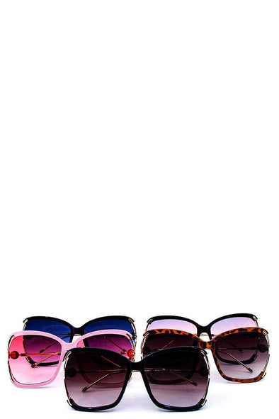 Sexy Stylish Big Eye Sunglasses - Babe Shoppe