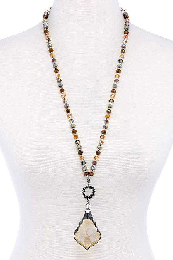 Fashion Chic Stylish Beaded Necklace - Babe Shoppe