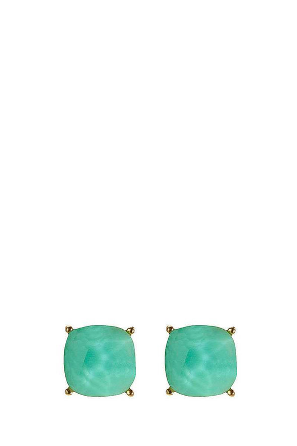Square Shape Post Earring - Babe Shoppe