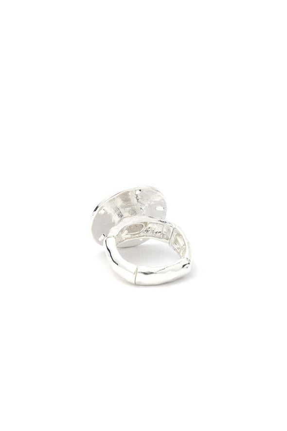 Sand Dollar Stretch Ring - Babe Shoppe