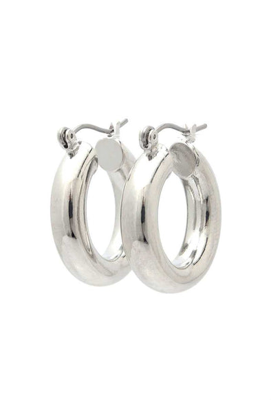 Tube Hoop Earring - Babe Shoppe