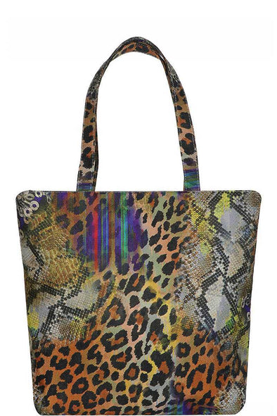 Animal Print Tote Bag - Babe Shoppe