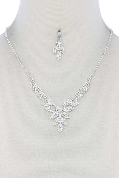 Rhinestone Necklace - Babe Shoppe