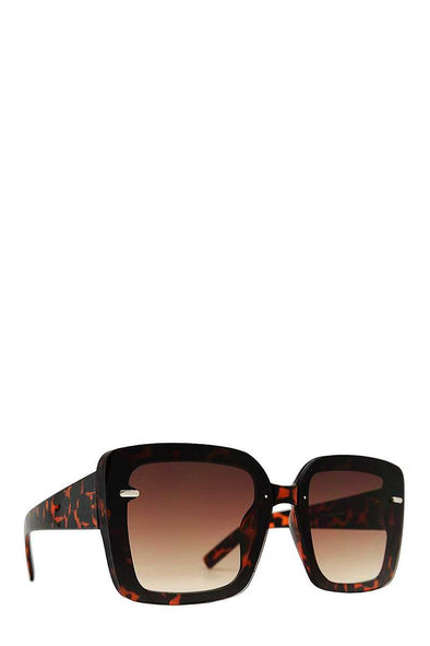 Designer Square Rimless Sunglasses - Babe Shoppe