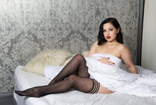Retro polka dot stockings