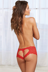 Alluring heart back panty