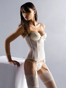 Gorgeous cream bridal corset