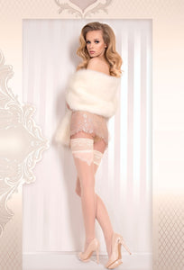 Stunning bridal stockings
