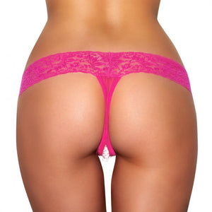 Sexy secret pearls extreme panties