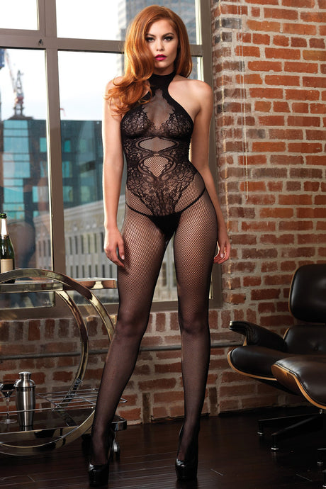 Open crotch bodystockings