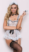 Lace See Through Sexy Lingerie Maid