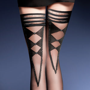 Stunning stockings with glittering details