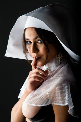 Erotic nun costume