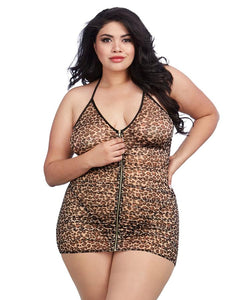 Super sexy Leopard Print Chemise