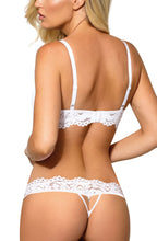 Bridal push up bra