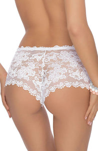A pretty pair of lace briefs