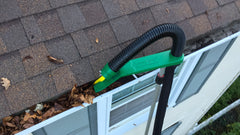 Gutter cleaning tool:  the Gutter Viper