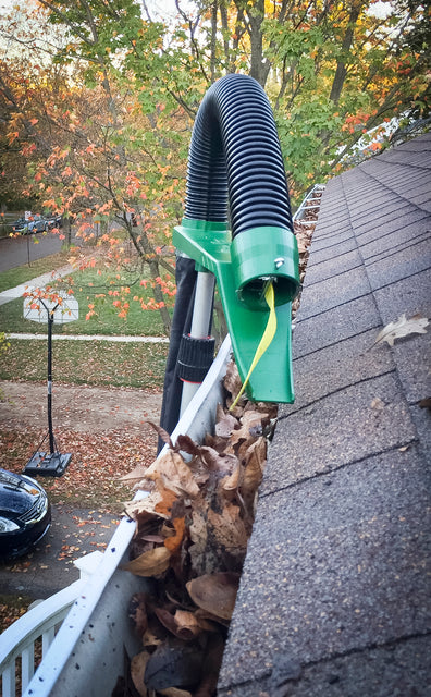 This is a Gutter cleaning tool.  A tool to clean gutters, clean my gutters, even high gutters.  We'll show you how to clean gutters.  Unblocking gutters or prevent gutters from blocking.