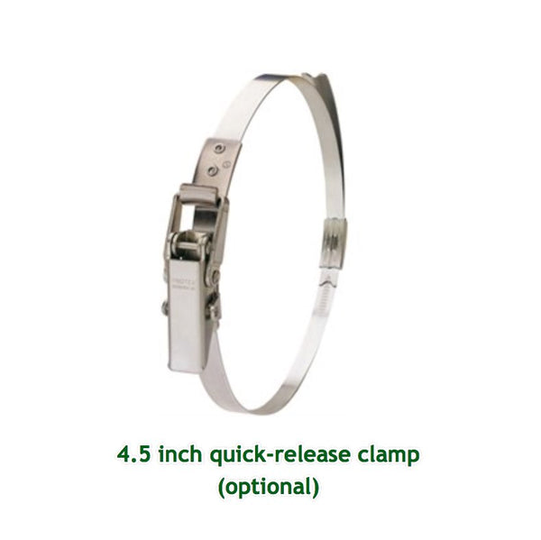 Quick Release 4.5 inch Adjustable Clamp for Professionals