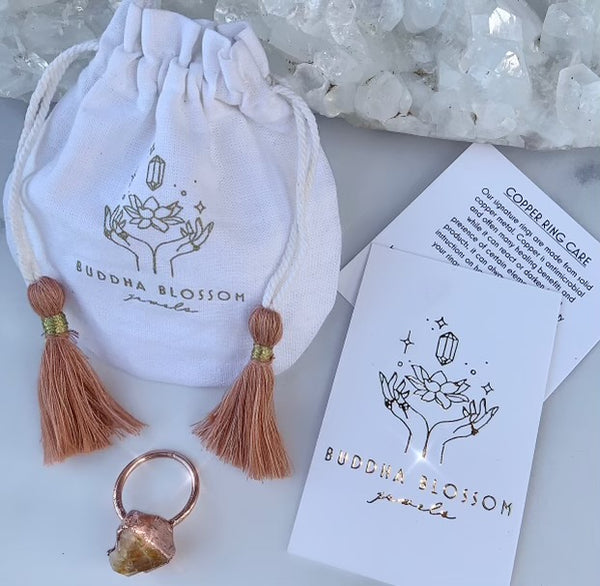 Gift Packaging and Jewelry Care Card