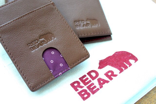 Tan Security Wallet & Card Holder Set