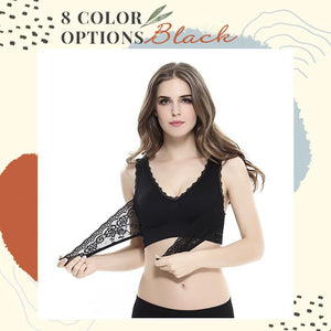 Instant Lift Front Cross Side Buckle Lace Bra Shaper™ Athletics