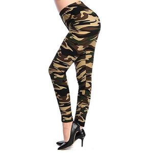 Casual Camouflage Leggings Shaper™ Camouflage 10 One Size