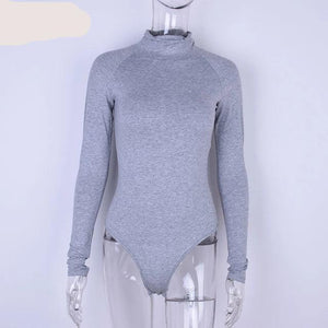 Cotton Winter Bodysuit Shaper™ Athletics Gray S