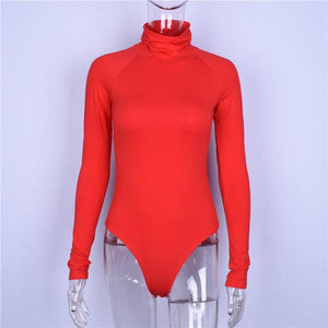 Cotton Winter Bodysuit Shaper™ Athletics Red S
